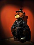 Το Teddy αντέχει στο αρχαίο κοστούμι στρατιωτών της Κορέας, Teddy αντέχει το μουσείο Κορέα Στοκ Εικόνες