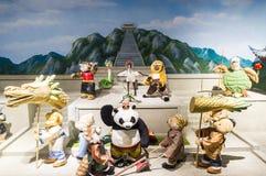Το Teddy αντέχει το μουσείο στην Κίνα Στοκ εικόνα με δικαίωμα ελεύθερης χρήσης