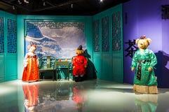 Το Teddy αντέχει το μουσείο στην Κίνα Στοκ φωτογραφίες με δικαίωμα ελεύθερης χρήσης