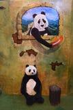 Το Teddy αντέχει το μουσείο Pattaya Στοκ Φωτογραφία