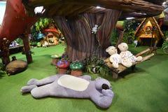 Το Teddy αντέχει το μουσείο Pattaya Στοκ Εικόνες