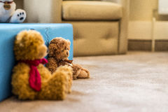 Το Teddy αντέχει το παιχνίδι Στοκ φωτογραφίες με δικαίωμα ελεύθερης χρήσης