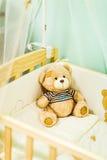 Το Teddy αντέχει το παιχνίδι Στοκ Φωτογραφίες
