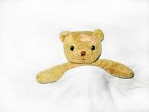 Το Teddy είναι άρρωστο. στοκ εικόνα με δικαίωμα ελεύθερης χρήσης