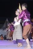Το Tenggarong, τον Ιούλιο του 2017 χορευτές ζευγών της Ταϊλάνδης ενώνει στο erau Inte Στοκ φωτογραφία με δικαίωμα ελεύθερης χρήσης