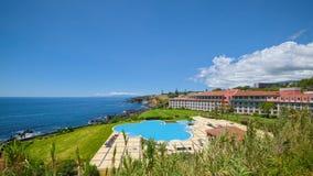 Το Terceira χαλά το ξενοδοχείο, Angra, Terceira, Αζόρες Στοκ φωτογραφίες με δικαίωμα ελεύθερης χρήσης