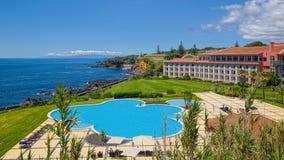 Το Terceira χαλά το ξενοδοχείο, Angra, Terceira, Αζόρες Στοκ Εικόνες