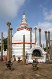 Το Thuparama Dagoba σε Anuradhapura είναι το παλαιότερο βουδιστικό dagoba στη Σρι Λάνκα Στοκ Εικόνες