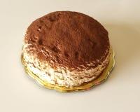 Το Tiramisu crepes το κέικ Στοκ Εικόνα