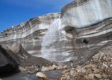 Το toe του παγετώνα Στοκ εικόνα με δικαίωμα ελεύθερης χρήσης