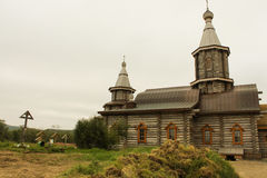 Το trifono-μοναστήρι Pechenga Στοκ φωτογραφία με δικαίωμα ελεύθερης χρήσης