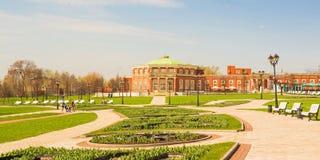 Το Tsaritsyno είναι σύνολο παλατιών και πάρκων Στοκ φωτογραφία με δικαίωμα ελεύθερης χρήσης