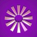 Το Tubas με την καλλυντική κρέμα βρίσκεται υπό μορφή κύκλου Στοκ Εικόνες