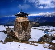 Το Tungnath είναι ο ναός Λόρδου Shiva Στοκ φωτογραφίες με δικαίωμα ελεύθερης χρήσης