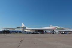 Το Tupolev TU-160 Στοκ φωτογραφία με δικαίωμα ελεύθερης χρήσης