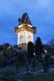 Το Uhrturm στο Γκραζ Στοκ εικόνα με δικαίωμα ελεύθερης χρήσης