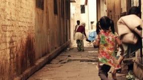 Το Varanasi είναι το πιό ιερό των επτά ιερών πόλεων σε Hinduism απόθεμα βίντεο