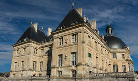 Το vaux-LE-Vicomte κάστρο, Γαλλία Στοκ Φωτογραφίες