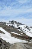 Κλίση άνοιξη Veleta στην οροσειρά Νεβάδα Στοκ Εικόνα