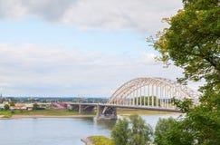 Το waalburg στο Nijmegen Στοκ Φωτογραφίες