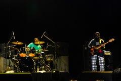 Το Wailers στη συναυλία Στοκ φωτογραφίες με δικαίωμα ελεύθερης χρήσης