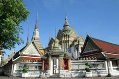 Το Wat Pho βρίσκεται στην Ταϊλάνδη Στοκ εικόνα με δικαίωμα ελεύθερης χρήσης
