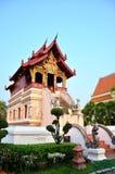 Το Wat Phra τραγουδά Waramahavihan σε Chiang Mai Ταϊλάνδη Στοκ Εικόνες
