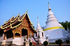 Το Wat Phra τραγουδά Waramahavihan σε Chiang Mai Ταϊλάνδη Στοκ Φωτογραφίες