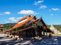 Το Wat Sri Pho Chai τραγούδησε Pha, NA Haeo, επαρχία Loei, Ταϊλάνδη Στοκ φωτογραφίες με δικαίωμα ελεύθερης χρήσης