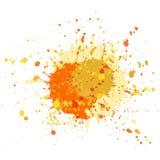 Το Watercolor λεκιάζει grunge το διάνυσμα υποβάθρου ελεύθερη απεικόνιση δικαιώματος