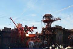Το Waterworld παρουσιάζει Στοκ Εικόνες