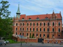 Το Wawel Castle Στοκ φωτογραφίες με δικαίωμα ελεύθερης χρήσης