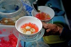 Το Wedang Ronde είναι παραδοσιακός ντόπιος ποτών της Ιάβας, Ινδονησία Στοκ Εικόνες