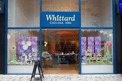 Το Whittard του καταστήματος της Chelsea σε Bracknell, Αγγλία στοκ εικόνες