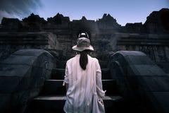 Το world& x27 μεγαλύτερος βουδιστικός ναός του s Στοκ Εικόνα