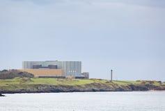 Το Wylfa ο σταθμός πυρηνικής ενέργειας σε Cemaes σε Anglesey Στοκ Εικόνα