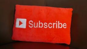 Το YouTube προσυπογράφει το κουμπί απόθεμα βίντεο