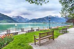 Το Zeller βλέπει το Σάλτζμπουργκ, Αυστρία Στοκ φωτογραφία με δικαίωμα ελεύθερης χρήσης