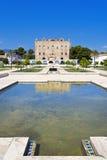 Το Zisa Castle στο Παλέρμο, Σικελία Ιταλία Στοκ Φωτογραφίες