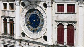 Το zodiac ρολόι του πύργου ρολογιών Αγίου Mark ` s στοκ εικόνες με δικαίωμα ελεύθερης χρήσης