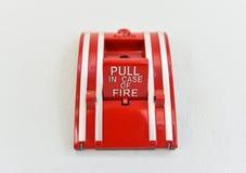 Τράβηγμα σε περίπτωση πυρκαγιάς στοκ φωτογραφία με δικαίωμα ελεύθερης χρήσης