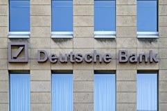τράπεζα άργυρου deutsche στοκ φωτογραφία