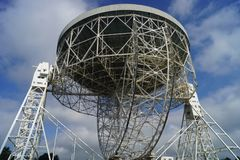 Τράπεζα κύριο Radiotelescope Jodrell στοκ φωτογραφίες