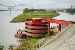 Τράπεζα ποτάμι Μισισιπή στοκ εικόνα με δικαίωμα ελεύθερης χρήσης