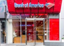 Τράπεζα της Αμερικής Μανχάταν Στοκ Εικόνα