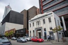 Τράπεζα της Νότιας Νέας Ουαλίας στο Περθ Στοκ εικόνα με δικαίωμα ελεύθερης χρήσης