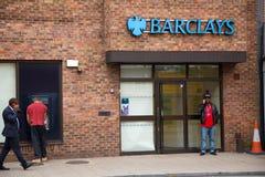 Τράπεζα της Barclays Στοκ φωτογραφία με δικαίωμα ελεύθερης χρήσης