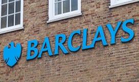 Τράπεζα της Barclays Στοκ Φωτογραφίες