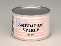 Τράπεζα του αμερικανικού πνεύματος Στοκ Εικόνες