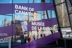 Τράπεζα του μουσείου του Καναδά στοκ εικόνες